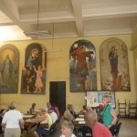 The lunch room at the Senior Center