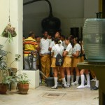 School children we saw near by.