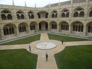 Cloister of the Jeronimos Monastery