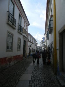 A lovely street view of Obidos