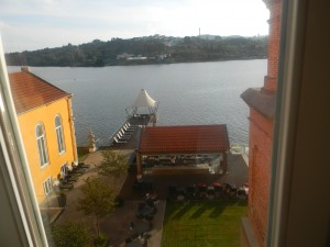 The view from our pousada (hotel) room...