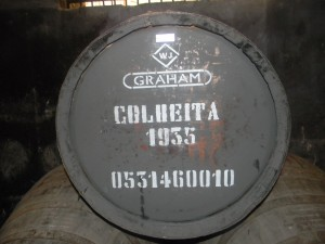 Graham's cask of port...wouldn't you like to share some of this?