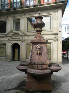 Every village had beautiful old drinking fountains.