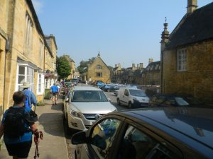 Finally, we arrive in Chipping Camden! It's hot out!